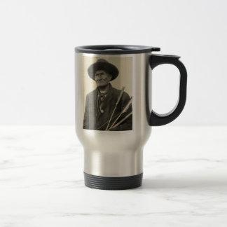 'Geronimo with Arrows' Travel Mug