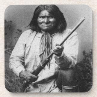 'Geronimo with Gun at the Ready' Coaster