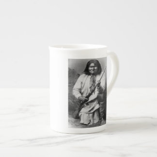 'Geronimo with Gun at the Ready' Tea Cup