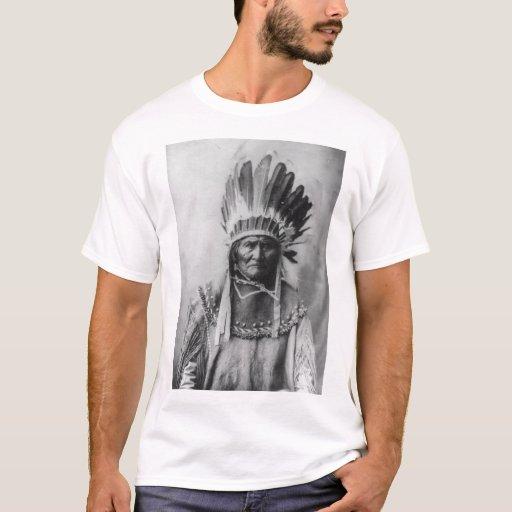 'Geronimo with Headdress' T-Shirt