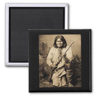 Geronimo with Rifle 1886 Magnet