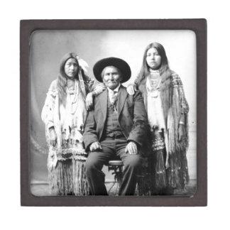 Geronimo y dos sobrinas caja de regalo de calidad