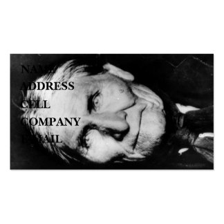 'Geronimo's Intensity' Double-Sided Standard Business Cards (Pack Of 100)