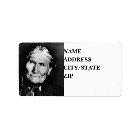 'Geronimo's Intensity' Label