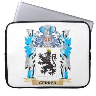 Gerred Coat of Arms - Family Crest Computer Sleeves