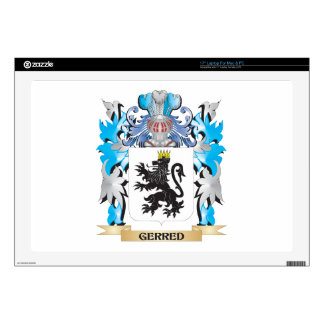 """Gerred Coat of Arms - Family Crest 17"""" Laptop Decals"""