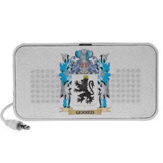 Gerred Coat of Arms - Family Crest Travel Speakers