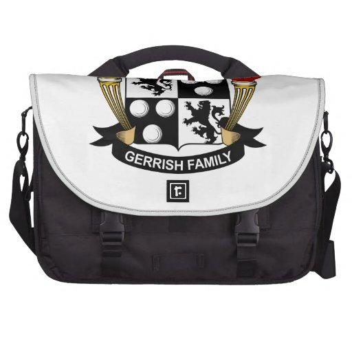Gerrish Family Crest Laptop Bag