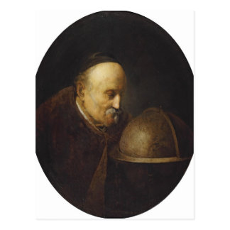 Gerrit Dou- Heraklith Post Card