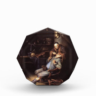 Gerrit Dou- The Extraction of Tooth Acrylic Award