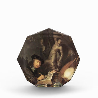 Gerrit Dou- The Painter in his Workshop Acrylic Award