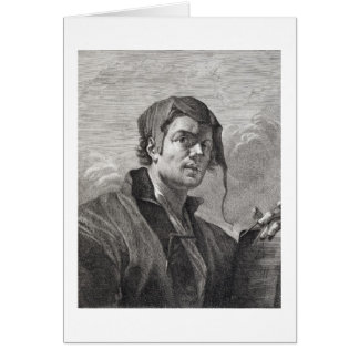 Gerrit van Honthorst (1590-1656), engraved by Cosi Card