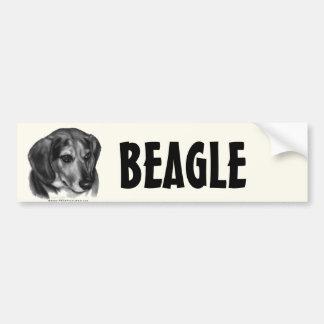 Gerry, Beagle Car Bumper Sticker