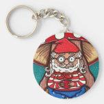 Gerry Garcia Gnome Keychain