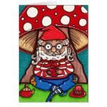 Gerry Garcia Gnome Note Card