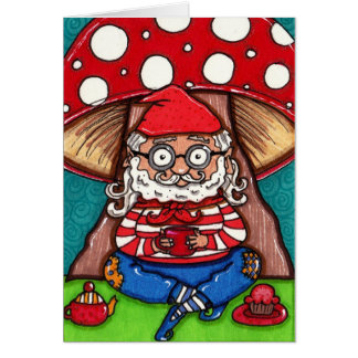 Gerry Gnome Note Card