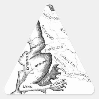 Gerry-Mander Triangle Sticker