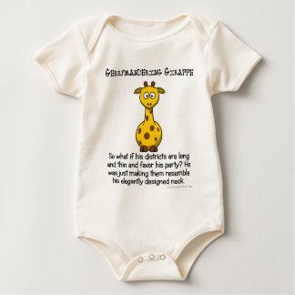 Gerrymandering congressional districts baby bodysuit