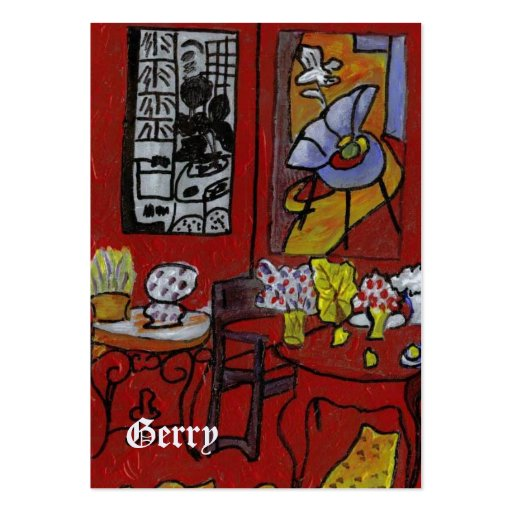 GERRYS MATISSE PORTABLE ART LARGE BUSINESS CARDS (Pack OF 100)