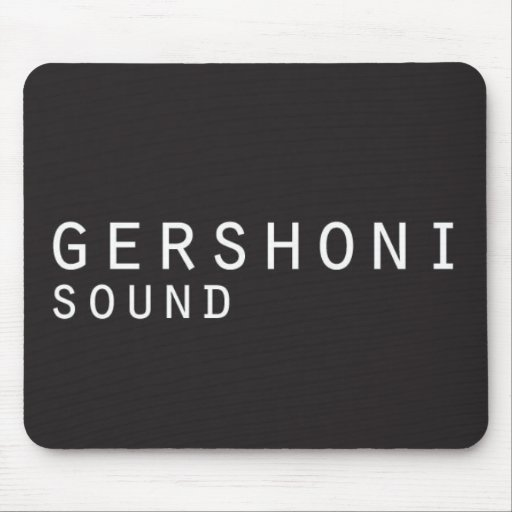 gershonisound_mouse pad mouse pad