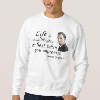 Gershwin el vida sudadera