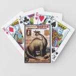 Gertie el dinosaurio barajas de cartas