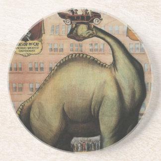 Gertie el dinosaurio posavasos para bebidas