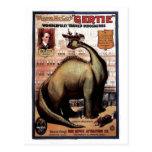 Gertie el dinosaurio postal