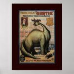 Gertie el dinosaurio posters