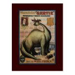 Gertie el dinosaurio tarjetas postales
