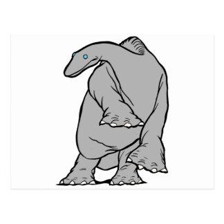 ¡Gertie el engranaje del dinosaurio! Postal