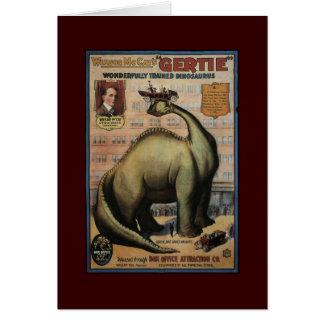 Gertie The Dinosaur Card