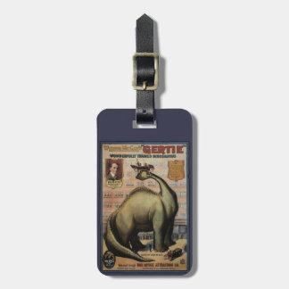 Gertie The Dinosaur Luggage Tag