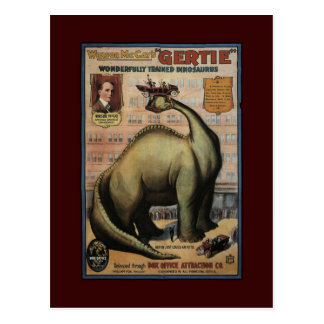 Gertie The Dinosaur Postcard