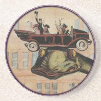 Gertie The Dinosaur Sandstone Coaster