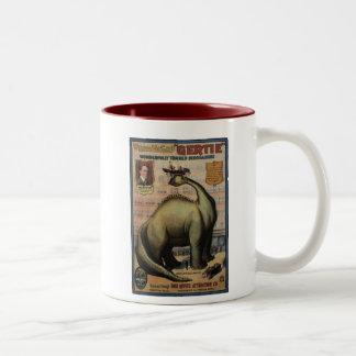 Gertie The Dinosaur Two-Tone Coffee Mug