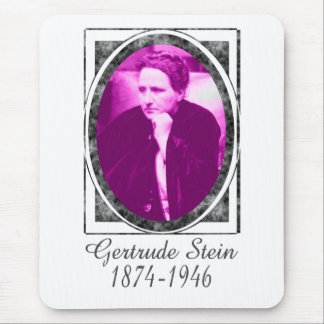 Gertrude Stein Mouse Pad