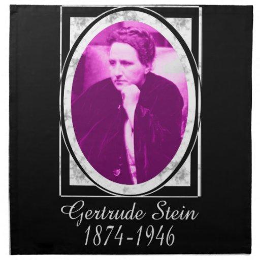 Gertrude Stein Napkins