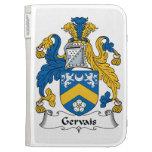 Gervais Family Crest Kindle Case