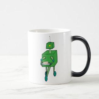 Gervolger M Robot 11 Oz Magic Heat Color-Changing Coffee Mug