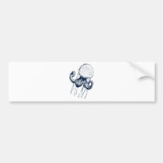 geschenk del regalo del meer del océano de los pes etiqueta de parachoque