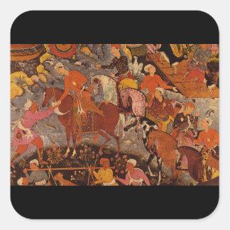 Geschichte des Emir Hamza_The Orient Square Sticker
