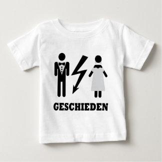 geschieden icon baby T-Shirt