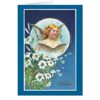 Gesegnete Ostern, Blessed Easter Greeting Card