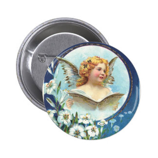 Gesegnete Ostern, Blessed Easter Pinback Button