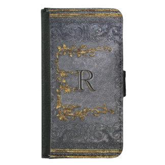 Gesenhoff Old Book Style Samsung Galaxy S5 Wallet Case