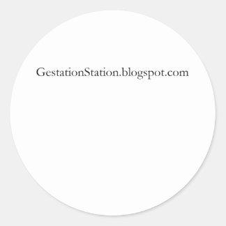 Gestation Station Stickers