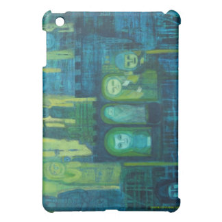 Geste in Green and Blue  Case For The iPad Mini