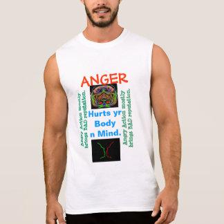 Gestión de la CÓLERA - alguien necesita su ayuda Camiseta Sin Mangas