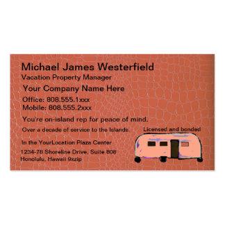 Gestión de las propiedades inmobiliarias o de la p tarjeta personal